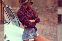 Totally My Style / Trendy, 70's, Casual, Country Cowgirl, Western, early 00s, skater, pop, punk  / by Anna
