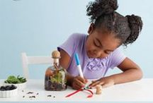 Creative Kid Crafts / Crafts and DIY projects to build your child's imagination both indoors and out.