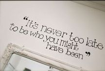 inspiration and quotes / pick me up quotes
