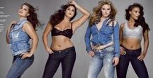 Curvy, Hourglass & Pear / Curvy is sexy. You'll find perfect jeans to enhance your curves and your derriere. Click through to curvy posts on ilovejeans.com