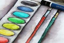art class projects / by Raven Uecker