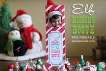 """Elf on the Shelf Ideas  / Ideas for our Elf """"Curtain's"""""""