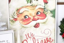 Christmas Printables  / Print it. Put it in a frame. Hang for all to see!