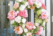 Wreaths / Create. Make. Hang for all to see! Every door deserves a beautiful wreath.