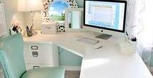 Home office / home office, office layout, office colors, office inspiration, home office inspiration