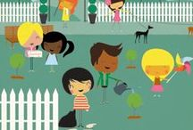 Get Inspired by Inspiring Others / Help your family's community with these kid-friendly ideas about volunteering, helping others, and strengthening your neighborhood.