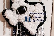 Homecoming Mums by Esther / Texas football traditions: Homecoming Mums, Garters, Spirit Items!!