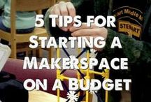 Maker Spaces / Makerspace | Maker Spaces | Tinker Stations | STEAM Spots Everything you need to know about starting, funding and managing the newest hands-on, highly engaged education strategy and technique.