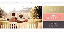 Website layouts / graphic design, website design, smart websites, efficient websites