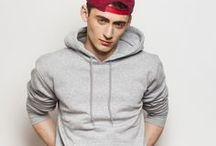Mens' Hoodie Fashion / Trending hoodie styles and outfit for men. Comfy and simple sweatshirts in casual and street style fashion.