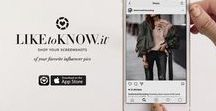 """Shop my LIKEtoKnow.it / Shop directly from my LIKEtoKNOW.it posts below or download the app """"shop your screenshots' on your phone & shop from many influencers."""