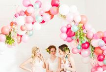 PARTY BANNERS AND DECORATIONS / Myriad of decorating ideas for the events in your life! / by Inge Falappino