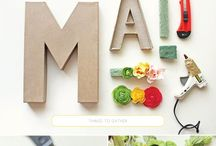 All the things to make! / by Sarah Middleton