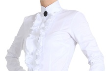 Elegant Womens Blouses, Work Tops & Shirts / Looking for a blouse for work?  Perhaps a crisp white shirt or a smart top suitable for the office, then visit www.pinstripeandpearls.com for the whole range of womens blouses, tops and shirts.