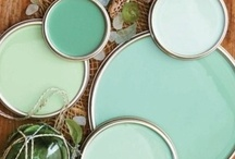 I love hue. / Paint and color ideas for the many rooms, projects, and potential projects that have yet to be put on our growing to-do list :) / by Christine Pasono