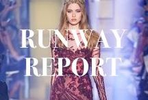 Runway Report / Bollare picks for must see runway looks! / by Bollare