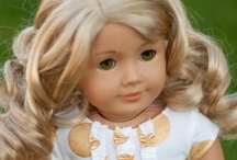 Doll-o-rama / AG fever has taken over here!  I still have my Molly from the 80s, and now my girl has her own collection.