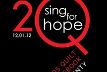 AIDS Quilt Songbook @ 20 / On World AIDS Day, December 1, 2012, Sing for Hope will present AIDS Quilt Songbook @ TWENTY – a celebratory concert commemorating the 20th anniversary of the classical music world's first organized response to the AIDS crisis. / by Sing for Hope