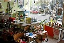 Amsterdam / Quirky shops and cafees in Jordaan & 9Straatjes, and other fun for a flamboyant stay