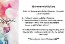 #SummerwithBollare / Follow All Bollare boards and re-pin for a chance to win the ultimate Bollare Beach bag! *Ends 12pm EST August 22nd* / by Bollare
