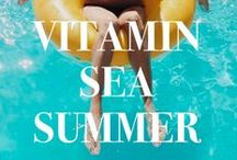 A Vitamin Sea Summer / Dig your feet into the sand with some Bollare Summer '15 Inspiration!  #SummerWithBollare / by Bollare