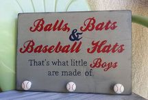 Baseball bedroom / by Adrienne Peresich