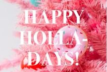 Happy Holla-Days! / Cozy fires, warm hearts & snowflake kisses - Our favorite holiday and winter inspirations! Bundle up this winter with us! #BollareHolidays #BundleUpWithBollare / by Bollare
