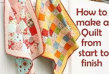 Learning to Quilt / This board has techniques,(another of my boards has Quilts you might want to try making) age old craft that is still going strong...color, design, useful..all the reasons to try doing...and many more  ~ no pin limits ~ / by Carolynn S. Williams