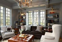 (Everyday) Living Room / by Caroline Brackett CBB Interiors