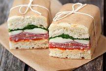 Sandwiches-Dogs-Wraps and Pitas / by Dottie Burt