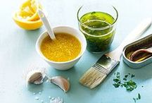 saucy / I like to make my own marinades, sauces, and spreads. It is better for you and often cheaper!  / by Bridget Eastman