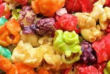 Popcorn-Trash-Rice Krispie Treats-and Other Snacks / by Dottie Burt