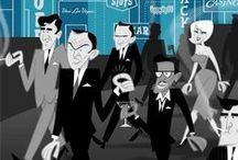 The Rat Pack / by Angela Birch