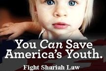 Shariah Law in USA/World / Information / by Carolynn S. Williams