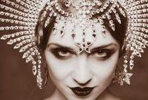 Headdress / Regal / Theatrical  / by Rhonda Powell