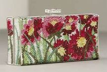 Judith Leiber Handbags / Art to wear Judith Leiber's rhinestone handbags / by Peggy Wright, Ruby Wings Designs