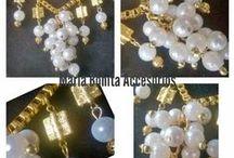 Maria Bonita Accesorios - Uruguay / Una pequeña muestra del diseño y armado de los accesorios Maria Bonita Uruguay. Hechas a mano en Colonia del Sacramento.  Únicos, exclusivos para una mujer especial.