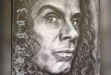 Ronnie James Dio magic / Ronnie James Dio scetches