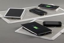 Energysquare: a new generation of wireless chargers using conduction rather than induction / Energysquare is a new generation of wireless chargers using conduction rather than induction. It makes it possible to charge several devices (Apple/Android smartphones and tablets) at the same speed as classical charger and at the same time. You just need to put your device on our ultra-thin surface! http://energysquare.co/