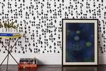 Wallpaper & Pattern / by Deuce Cities Henhouse / Alison Allen