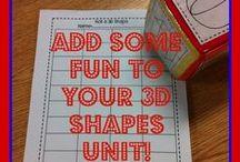 3D Shapes / by Kristen's Kindergarten