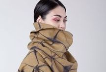 Stay'n Fashionably Warm / Different styles of scarves and other things to keep us warm