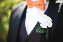 Orange and Green Watertown, SD Wedding