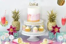 Party themes / If you're looking for a party theme for your next big bash or little one's birthday party, this is a great place to start. Full of party inspiration and lots of pretty ideas for special occasions.