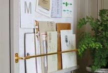 Organised home / Keeping all the nooks and cranny's in my home utilised with some of these fabulous ideas. Ideas on how to easily create order in every room of your home, and how to organise your cupboards + living spaces.