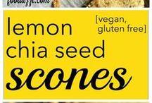 GRAIN + GLUTEN FREE / recipies that are vegan, paleo, gluten free (or all three)!