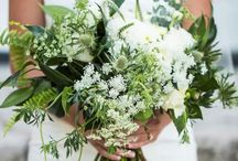 Wedding Florals / Greenery. White. Muted. Ferns. Modern. Midcentury. Dramatic yet Restrained. Minimalist yet Indulgent.