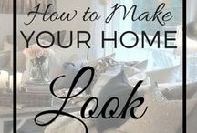 Home Sweet Home Advice / Home DYI and suggestions for rooms of homes or apartments.