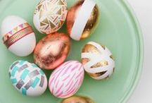 Easter projects + crafts / Bunny-licious ideas that you can hop into Easter with! Easter craft ideas, Easter party inspiration + Easter food suggestions. These ideas could also work well for a bunny themed party!