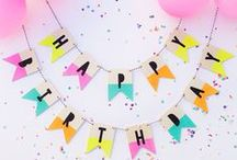 Party ideas / I love parties. From birthday parties to dinner parties to summer BBQs and everything in between. Here's a collection of beautiful tablescapes, party decorations, cakes, party food + party ideas to help you create a wonderful event.
